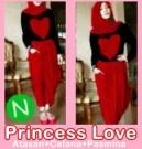 Baju Setelan Wanita Princess Love