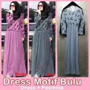 DRESS MOTIF BULU