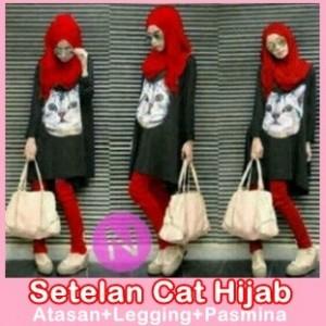 SETELAN CAT HIJAB