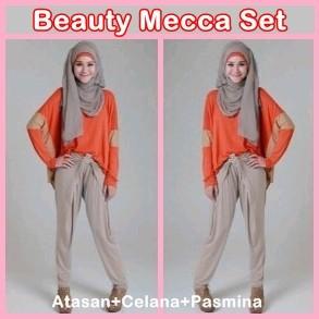 Celana Setelan beauty Mecca Set